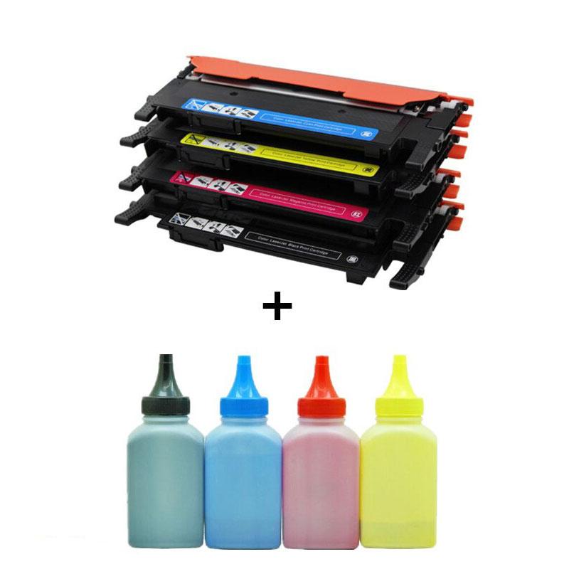شارژ کارتریج لیزری رنگی به وسیله تونر انجام می شود