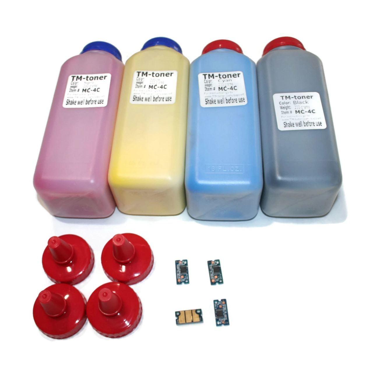 لوازم شارژ کارتریج لیزری رنگی